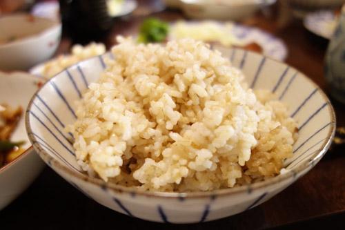 美味しそうな玄米ご飯