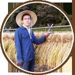 お米を持った笑顔の桜島ふれんずメンバー